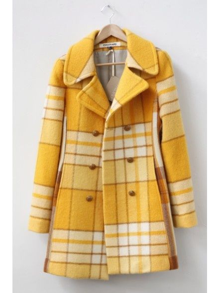 Yum :) I've always wanted a plaid coat. #MrBowerbird