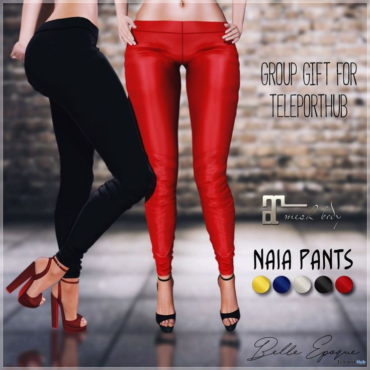 Naia Pants Fatpack Teleport Hub Group Gift by Belle Epoque