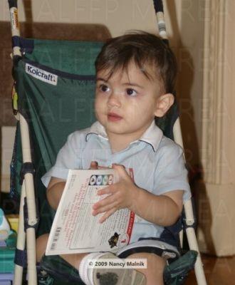 Blanket Jackson (age 2) 2004