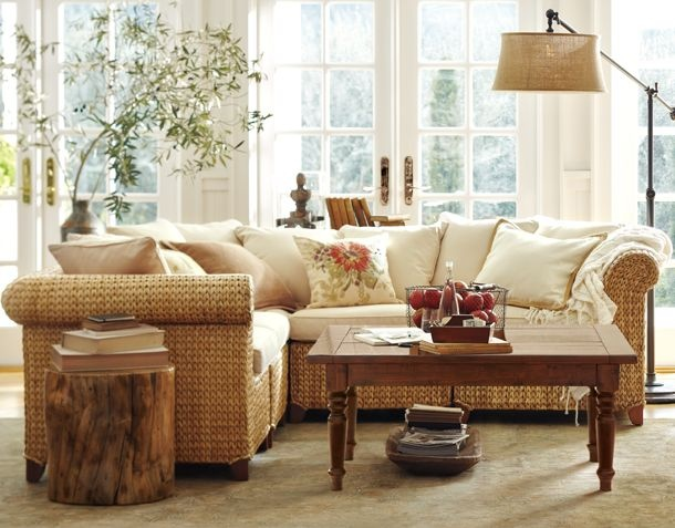 I Want This Pottery Barn Lamp W Burlap Shade In My Family Room