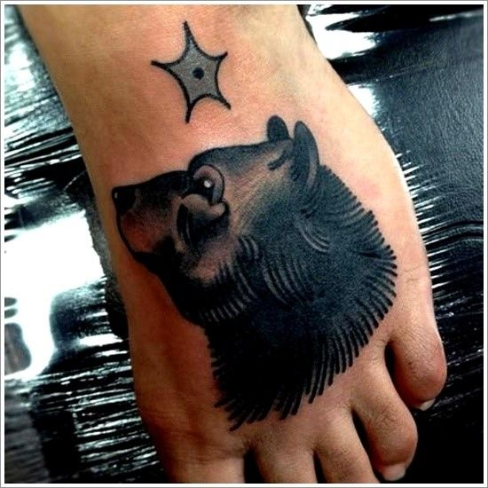 120 Fabulous Bear Tattoo Designs And Meanings nice  Check more at http://fabulousdesign.net/bear-tattoos-meanings/