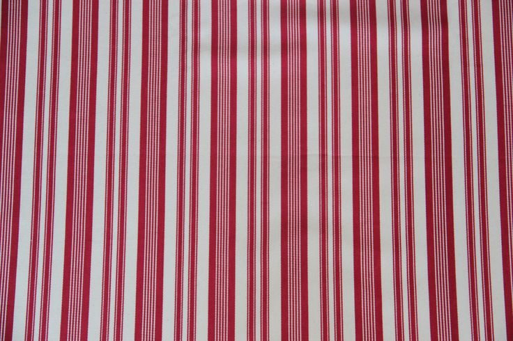 Canvas Fergus Stripe red