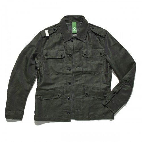 Officer's Outershirt - Military Green