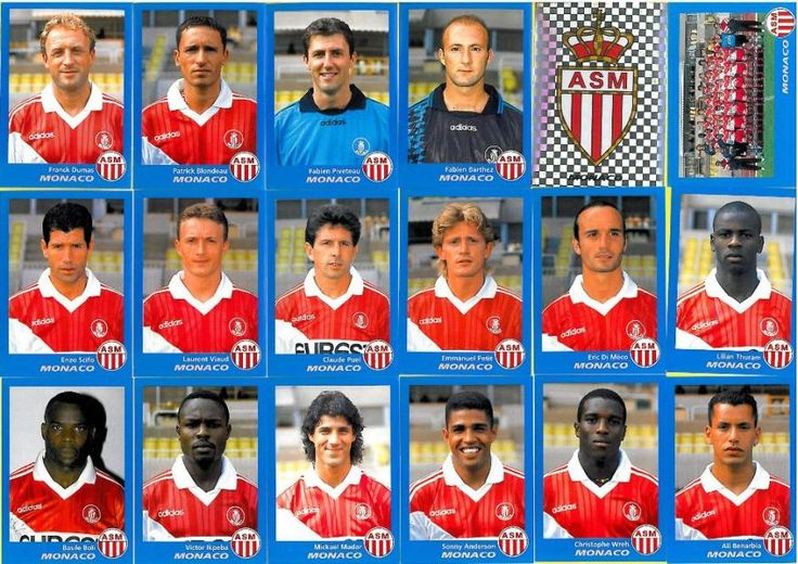 Images panini de l' AS Monaco FC