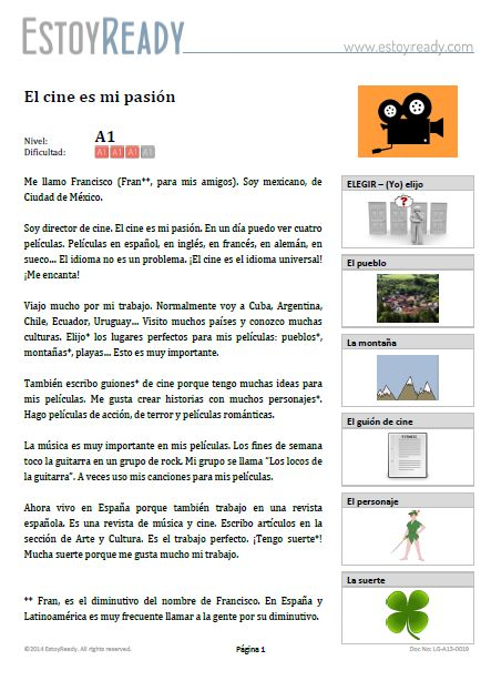 spanish hobbies Learn how to talk about your hobbies and to ask what are your hobbies:  vocabulary lists and exercises.
