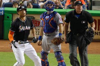 Giancarlo Stanton Jose Fernandez help Marlins bounce back against Mets