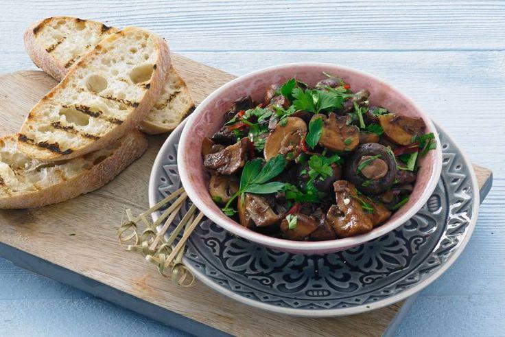 Balsamico-champignons - Recept - Allerhande
