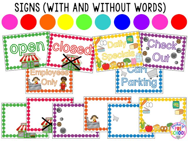 84 best grocery store theme images on Pinterest Preschool ideas