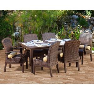 Costa rica patio dining set at costco home ideas for Ensemble patio costco