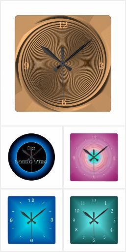 Minimalist Creative Clocks