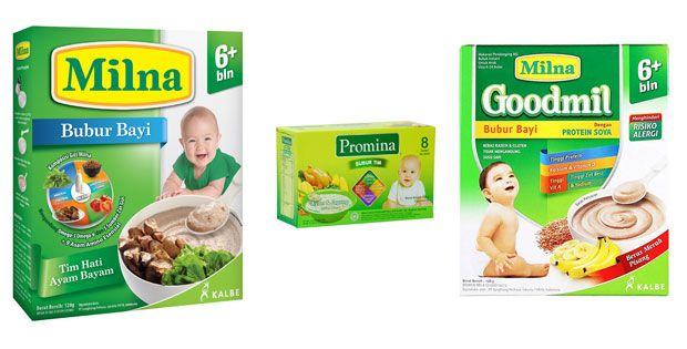 Harga Bubur Bayi Milna Terbaru 2017 – Memilih Makanan Pendamping ASI (MPASI) harus memperhatikan tekstur dan kandungan gizi yang ada di dalamnya.