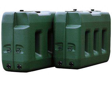 Nadzemní průmyslové : E-nádrže - nádrže na vodu, naftu nebo benzín, Nádrže na naftu