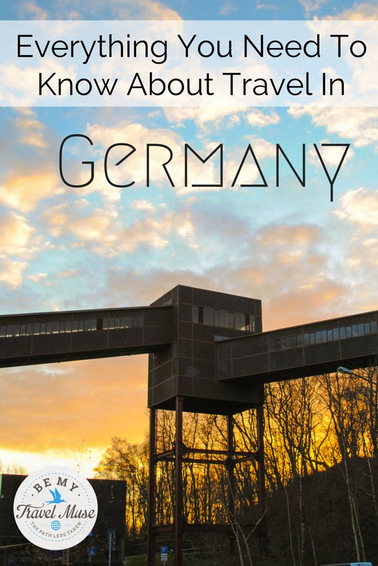 The Germany guide with everything you need to know to have a fabulous vacation in Germany, from a girl who has lived and solo traveled here since 2014.