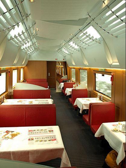 "ICE 1 inside of Bord Restaurant side ""Restaurant"" - by -c-a-b- - 22 november 2008"