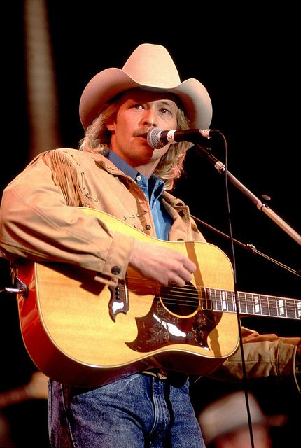 Alan Jackson by Farm Aid, He looks good!!! Look how young.  But I remember, I was YOUNG too!!!!!!!