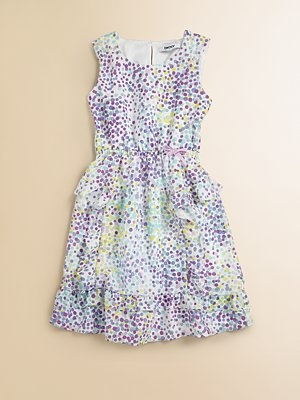 little miss dkny. what's cuter than fashion in tiny sizes?: Spots Dresses, Kids Style, Soft Spots, Kids Stuff, Girls Soft, Dresses Avery, Maddie'S Style, Dkny Girls, Born Fashionista