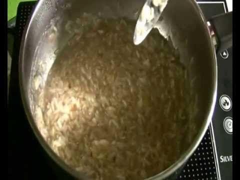 Rizstej készítése házilag
