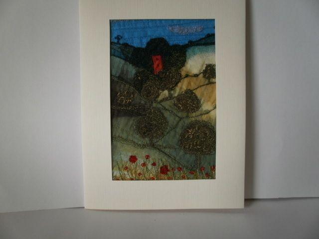 Ramblers Church.Textile Art £16.00