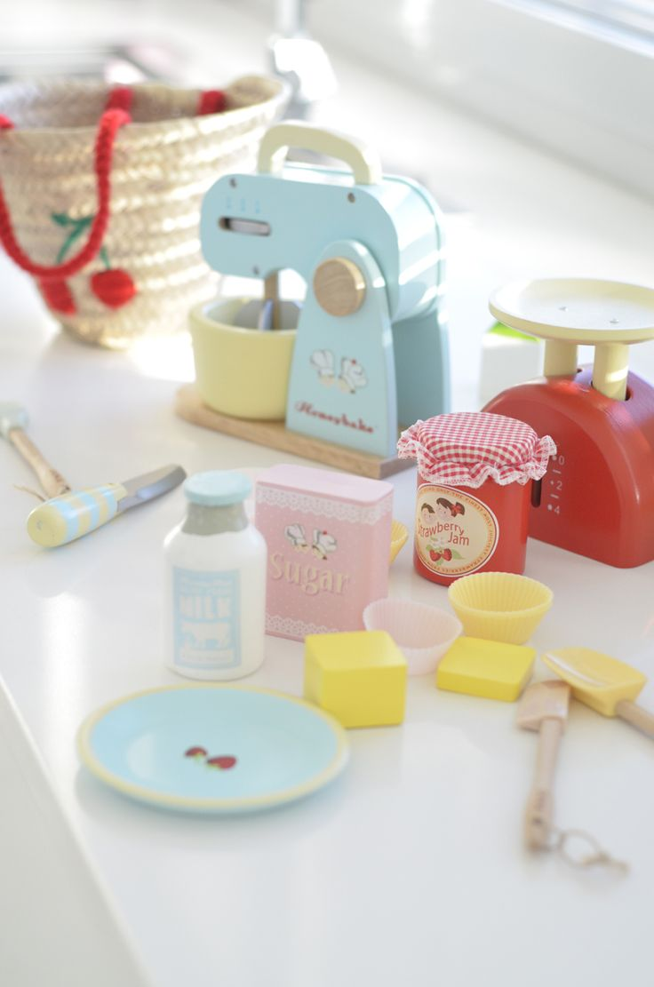 Le Toy Van - lovely toys for little girl's room, can be found at www.daisyandjack.co.uk
