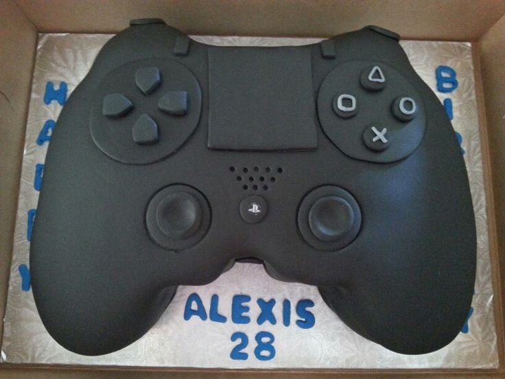 Ps4 Control Cake | Gaming | Pinterest | Cakes and PS4