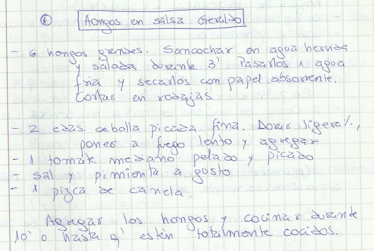 HONGOS EN SALSA GERARDO   #SALADO #ENTRADAS #ENTRADA #CHAMPIÑONES