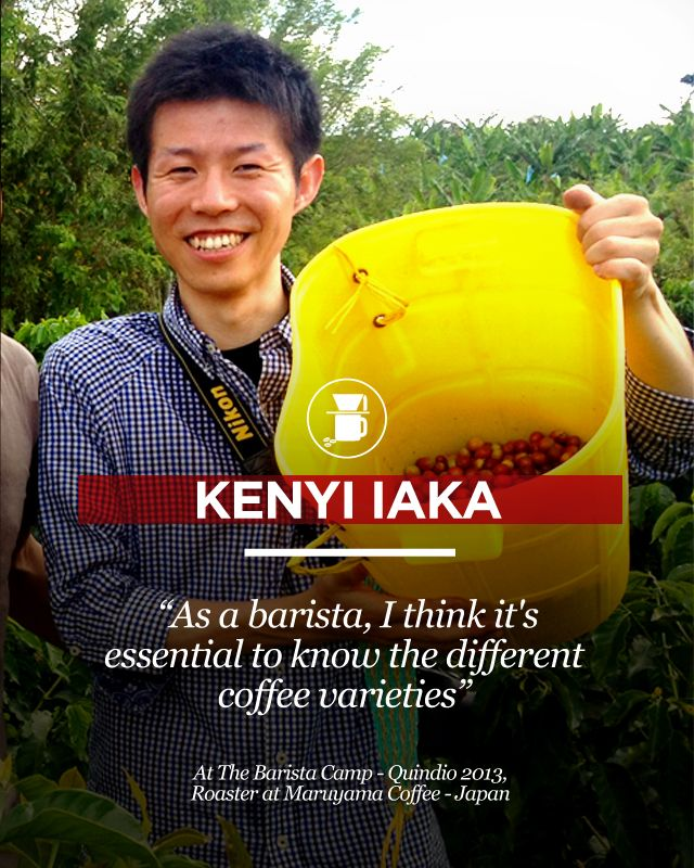 The Maruyama's coffee roaster Kenyi Iaka shared with us some thoughts during his trip to origin. Visit us at www.colombiancoffeehub.com