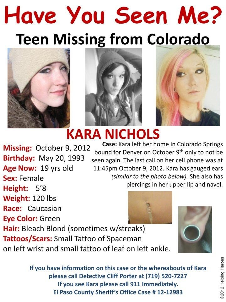 Missing Persons of America - Latest news and informationMissingKara Nichols: Missing from Texas