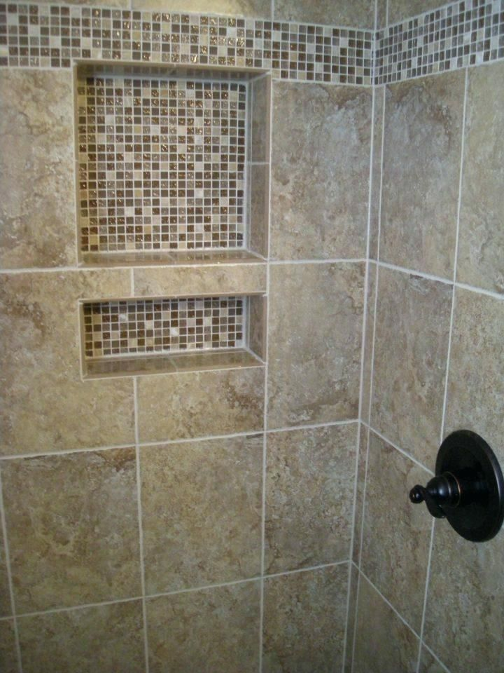 Awesome Tile Ready Shower Niche Bathroom Niches Sizes Tiling A Video Insert S