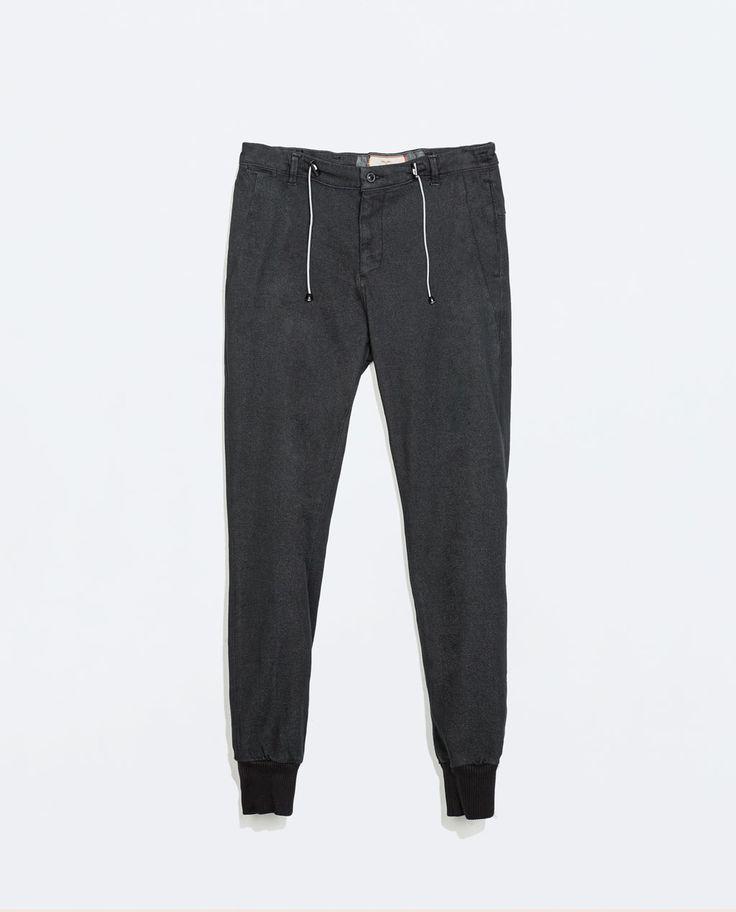 l'ultimo e6d7e a40d3 Pantaloni Zara Zara Uomo Uomo Pantaloni Tuta Zara Tuta RaUwRYq
