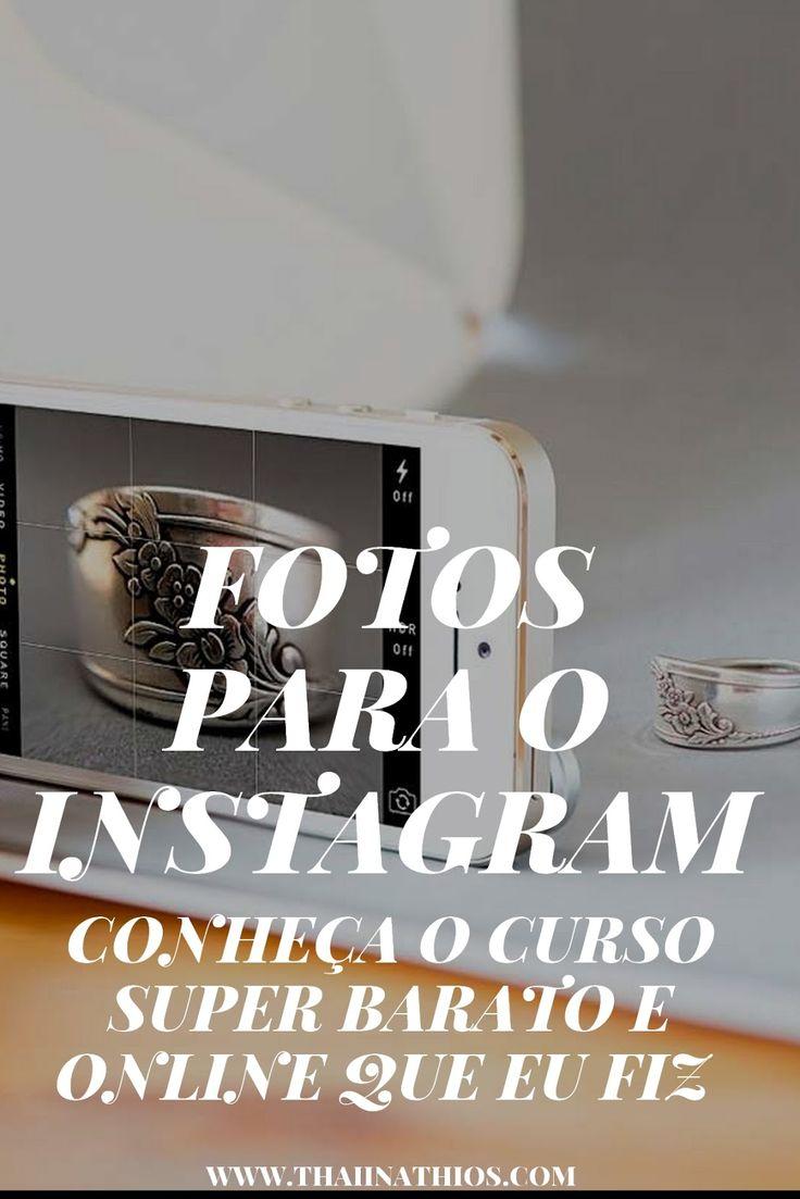 Fotos para o Instagram O Instagram a cada dia mais cresce e muita gente sente dificuldades em produzir conteúdo relevante,...