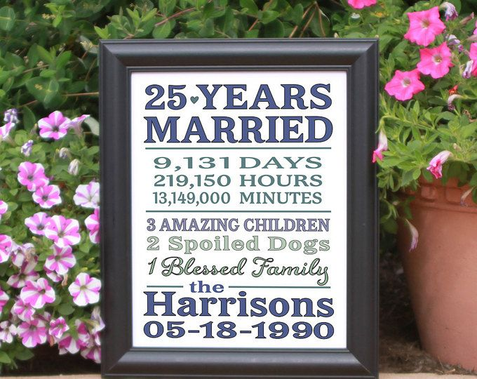 25 Year Wedding Anniversary Gift Ideas For Parents: Best 20+ 25 Year Anniversary Ideas On Pinterest