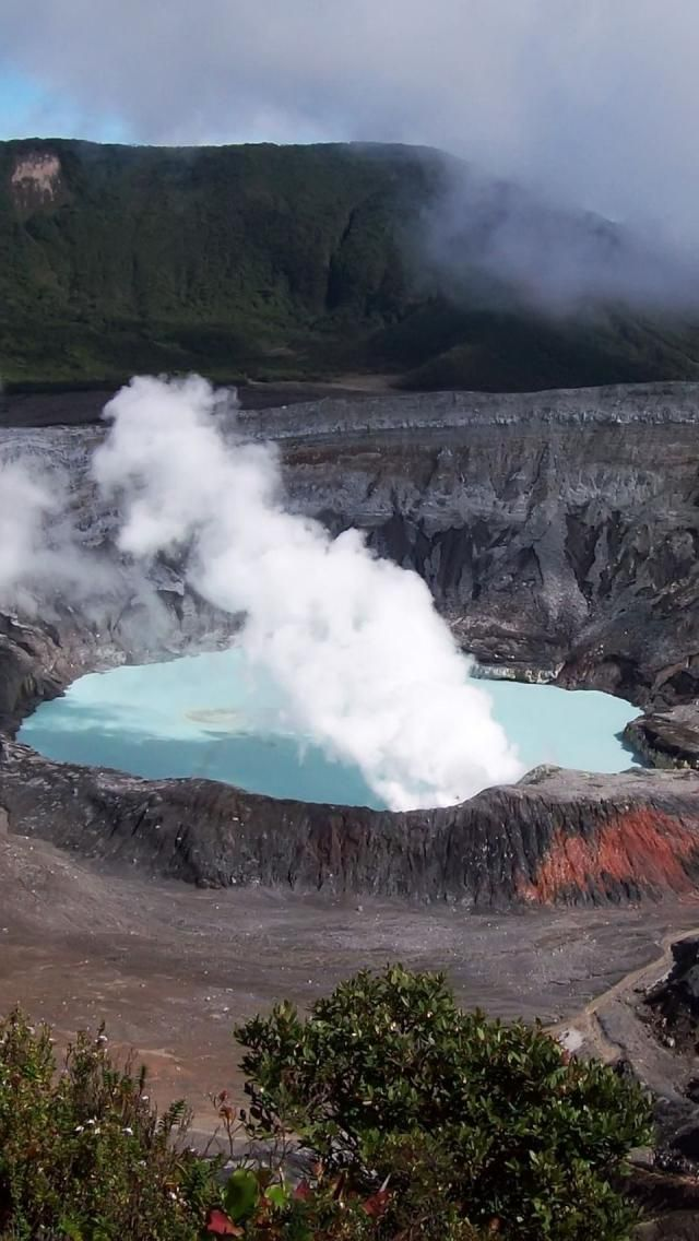 An easy hike, just outside of San Jose, Costa Rica will enable you to see Poas Volcano. Be sure to go early so your view is not affected by the clouds!