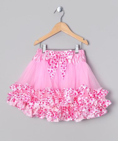 Pink & Red Heart Tutu - Infant, Toddler & Girls by Ella's Tutus on #zulily