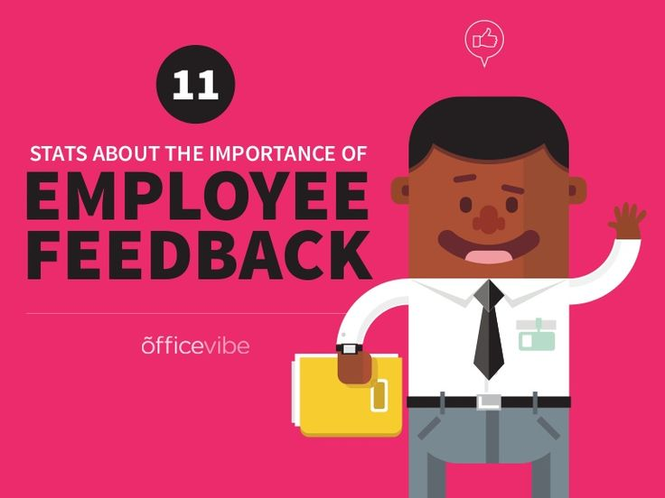 Here's an infographic displaying some of the statistics behind employee feedback. Try using some form of employee recognition or employee feedback. Content by …