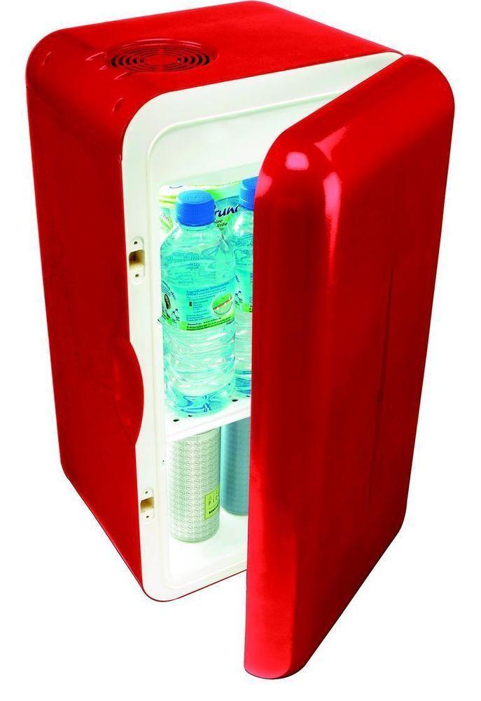 Dometic MobiCool F16 AC red mini fridge