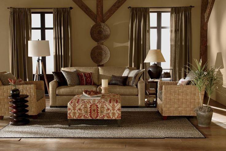Ethan Allen Explorer Living Room Home Pinterest