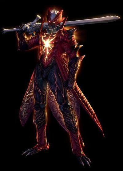 Dante's Demon form (Devil May Cry 4) [its not the coolest demon, per say, but it hold nostalgic value for me as it was one of my favorite games]