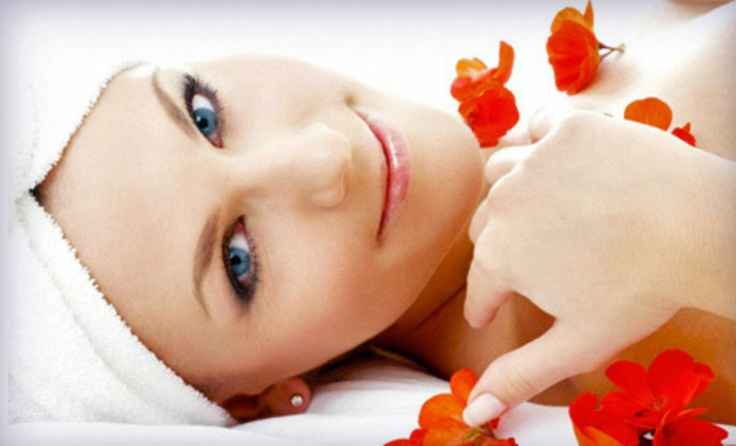 how to give a hot stone facial massage