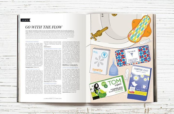 Peppermint Magazine ' Go With the Flow' article
