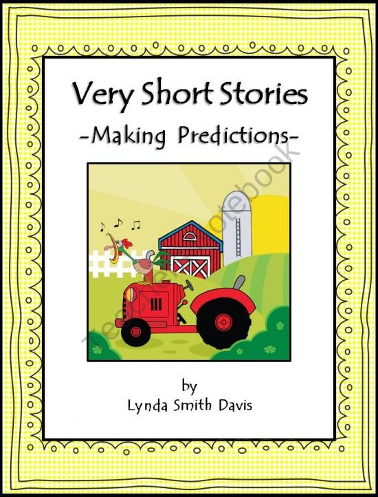 Very Short Stories - Making Predictions product from Funny-First-Grade on TeachersNotebook.com