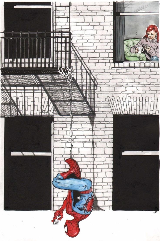 ✭ Spider-Man by Joëlle Jones