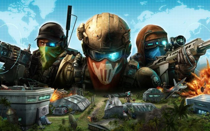 Tom Clancy's Ghost Recon video game, commander