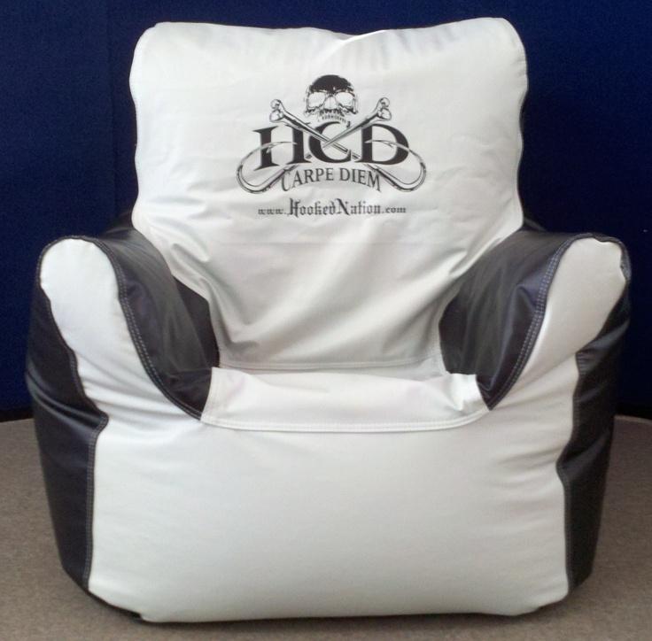 Ocean Tamer Armchair Marine Bean Bag With A Customers Company Logo