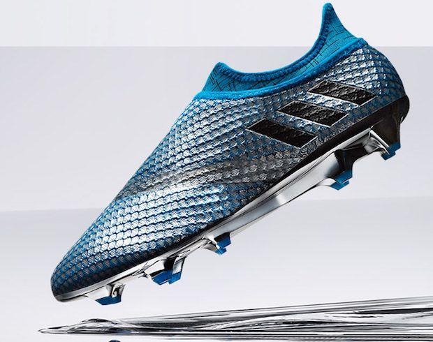 chaussure de foot sans lacet messi adidas mercury pack