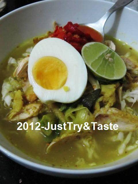 Just Try & Taste: Soto Ayam Lamongan Nan Simple
