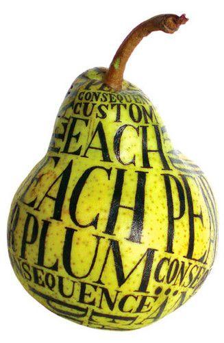 Illustrated Fruit, Sarah King