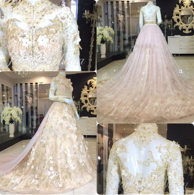 wedding dress kebaya 2016