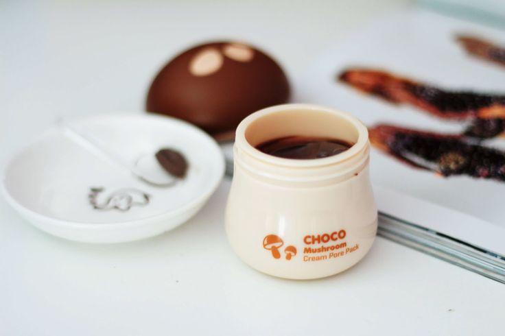 Beauty Review: TonyMoly Choco Mushroom Cream Pore Pack