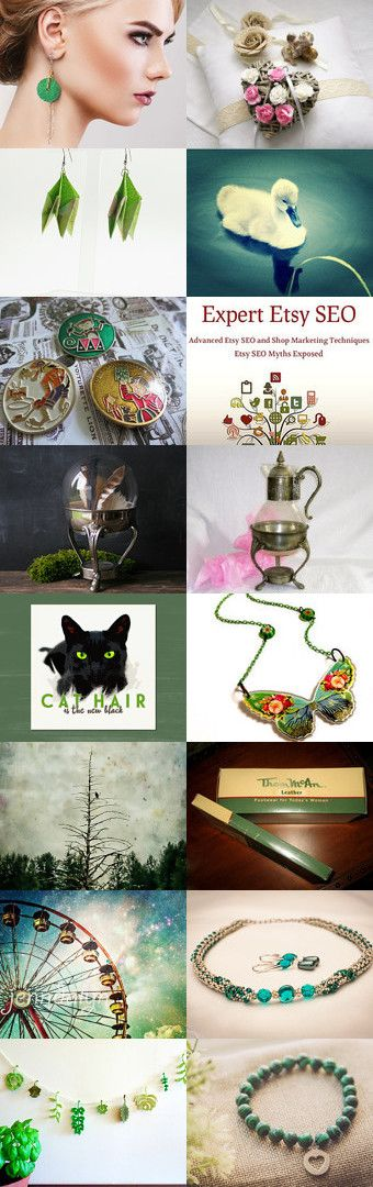 Green Dream by Laura P. on Etsy--Pinned+with+TreasuryPin.com