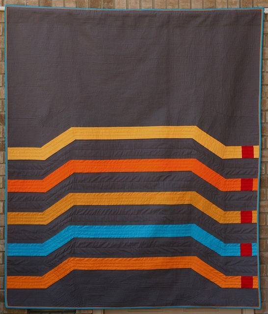 Stackable #1 by fiberosity, via FlickrQuilt Inspiration, Favorite Quilt, Lovable Quilt, Stackable Overpass, Members Quilt, Major Roadways, Roadways Reference, Modern Quilt